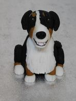 Bernese Mountain Dog Cake Topper